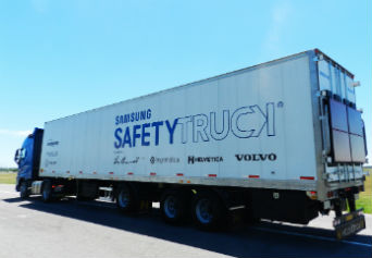 Samsung Safety Truck: Image Courtesy of Samsung