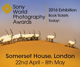 The student' shortlisted images will all be shown at Somerset House, London from 22nd April - 8th May as part of the 2016 Sony World Photography Awards Exhibition