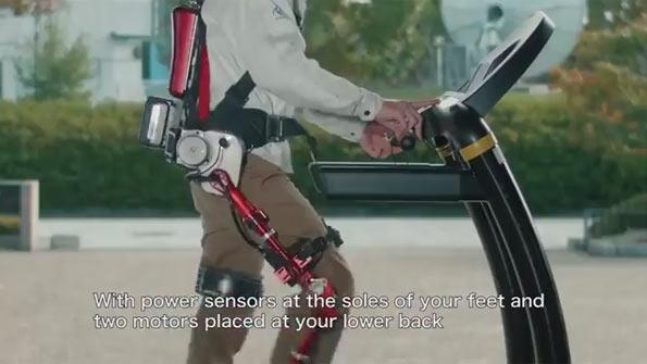 "Panasonic PLN-01 named ""Ninja"": Image grab from video above"