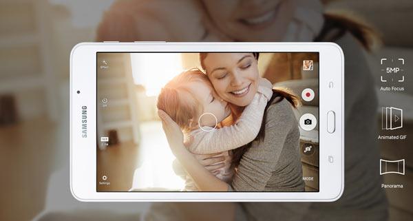 Samsung: Galaxy Tab A 7, white: Image Courtesy of Samsung