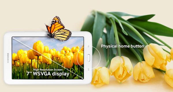 "Samsung: Galaxy Tab E LITE 7"": Image Courtesy of Samsung"