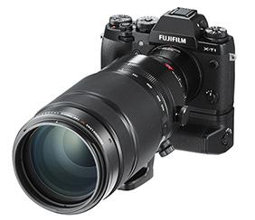Fujifim X-T1 camera with FUJINON TELECONVERTER XF2X TC WR and XF100-400mmF4.5-5.6 R LM OIS WR lens