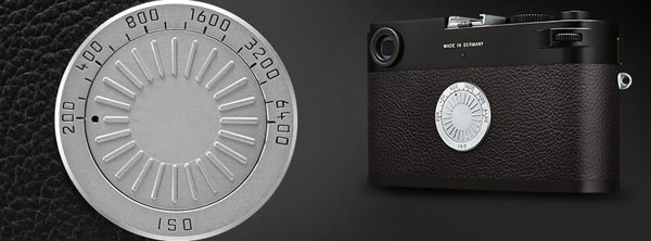 Leica M-D (Typ 262): ISO sensitivity setting dial