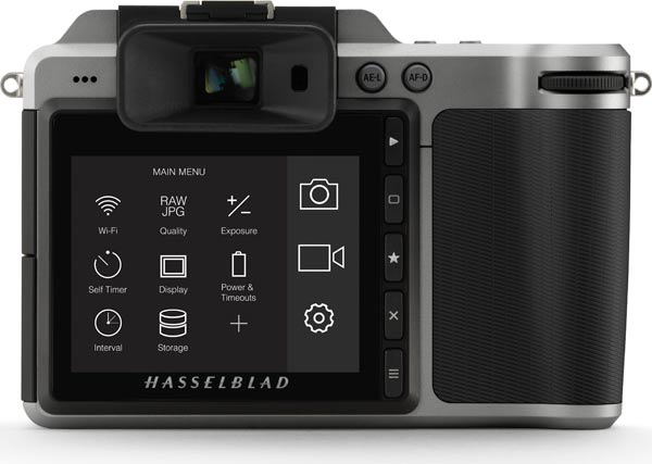 Hasselblad X1D (Back View)