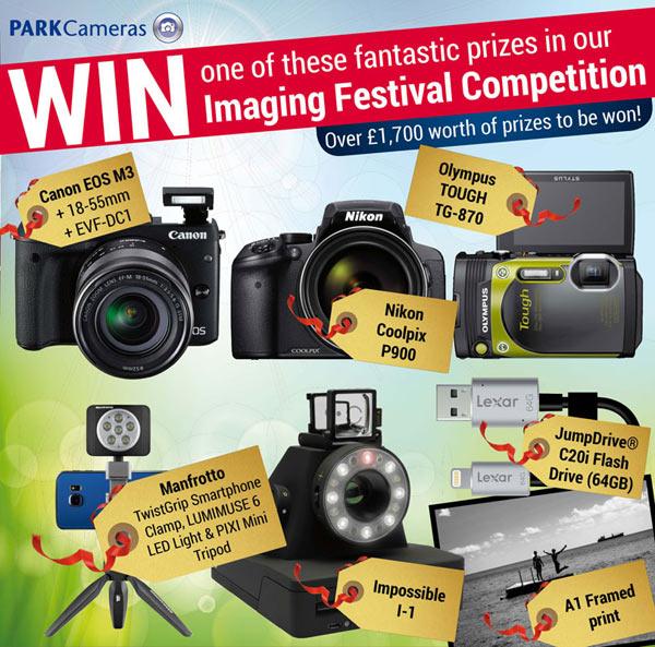 Park Cameras Black & White Photo Competition's Prizes