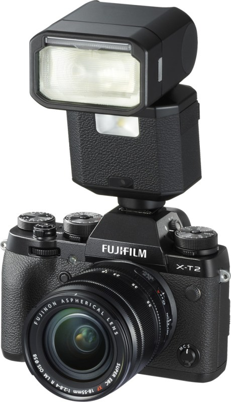Fujifilm X-T2 with optional EF-X500 Flash
