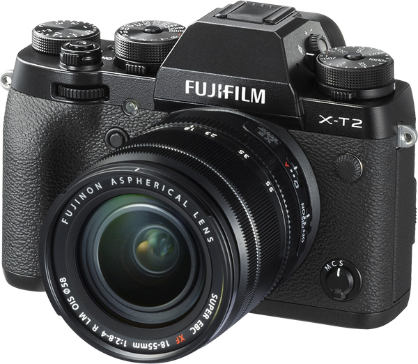Fujifilm X-T2 with 18-55mm kit lens