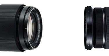 Fujifilm XF90mmF2 R LM WR (left) and XF16-55mmF2.8 R LM WR (right)