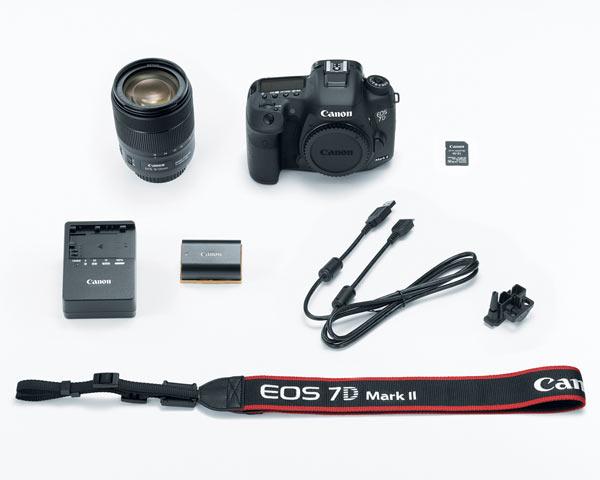 Canon EOS 7D Mark II with EF-S 18-135mm f/3.5-5.6 IS USM Lens and Wi-Fi Adapter W-E1 kit