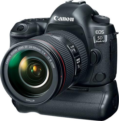 Canon EOS 5D Mark IV with Canon Battery Grip BG-E20