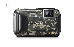 Panasonic LUMIX Tough Camera DMC-FT5