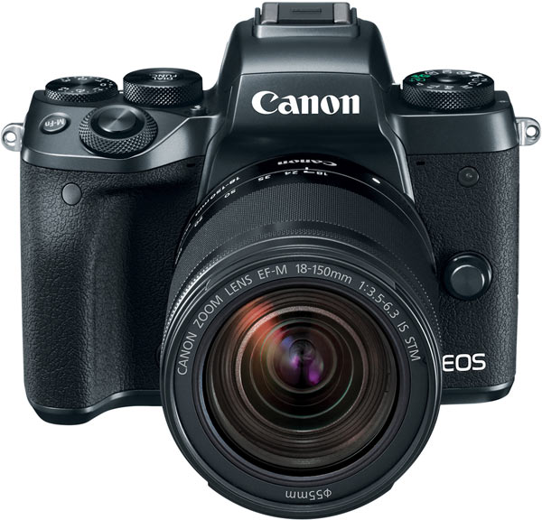 Canon EOS M5 with Canon EF-M 18-150mm f/3.5-6.3 IS STM lens
