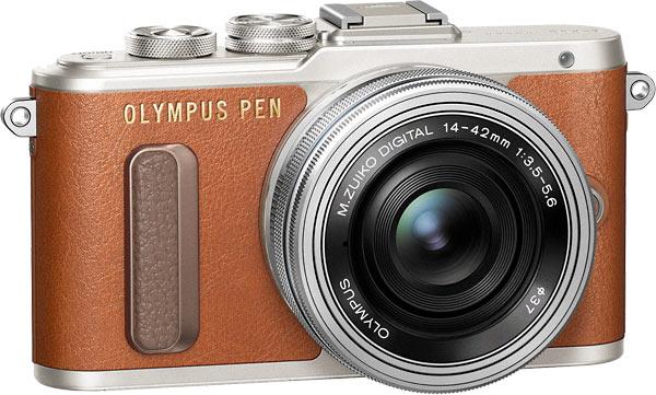 Olympus PEN E-PL8 (Brown)