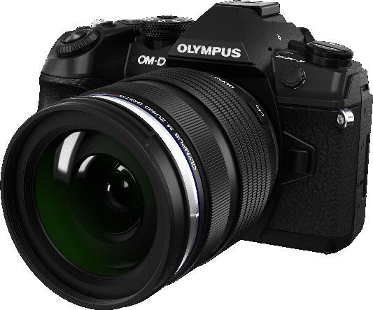 Olympus® OM-D E-M1 Mark II (Under Development): prototype