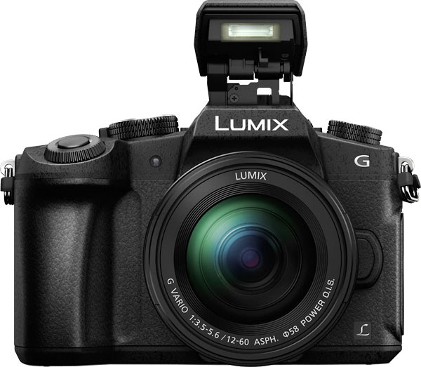 Panasonic LUMIX DMC-G85 with Pop-up Flash