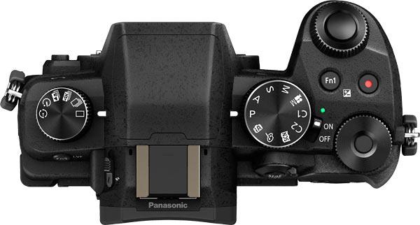 Panasonic LUMIX DMC-G85 Top View