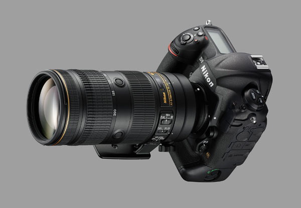 AF-S NIKKOR 70-200mm f/2.8E FL ED VR lens + Nikon D5 camera