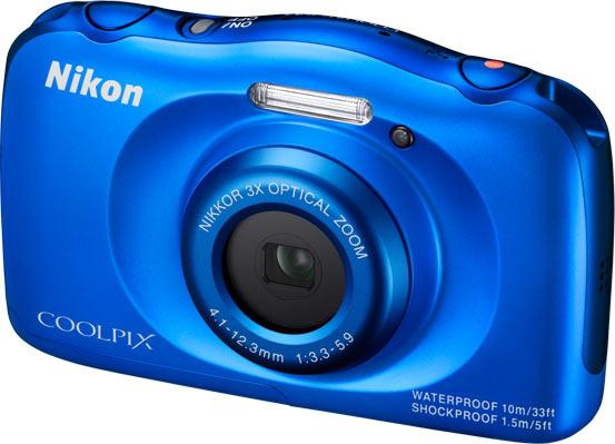 Nikon COOLPIX S33, blue colour