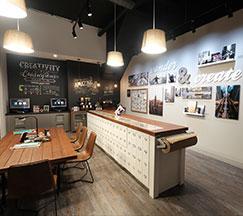 "Fujifilm Wonder Photo Shop: ""Wonder & Create"" space"