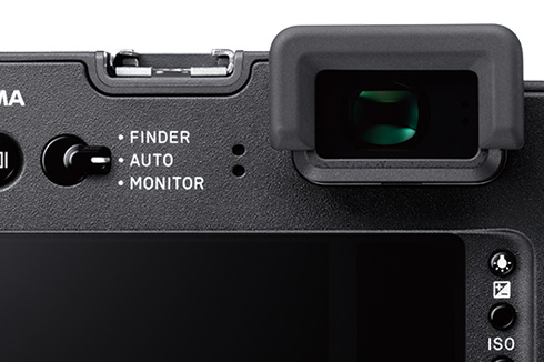 SIGMA sd Quattro H: High-resolution electronic viewfinder