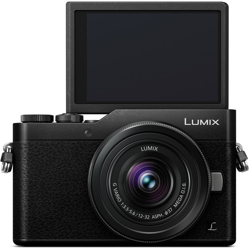 Panasonic LUMIX DMC-GX850 Front-facing LCD (Black)