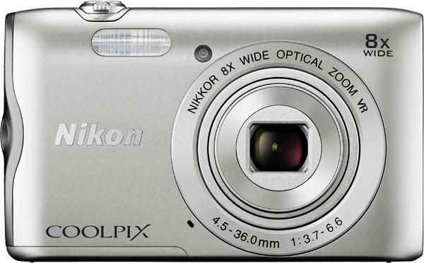 Nikon COOLPIX A300, silver