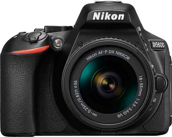 Nikon D5600 with the AF-P DX NIKKOR 18-55mm f/3.5-5.6G VR lens