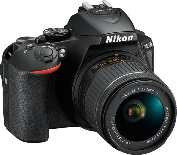 Nikon D5600 with the AF-P DX NIKKOR 18-55mm f/3.5-5.6G VR lens