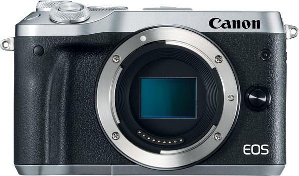 Canon EOS M6, silver