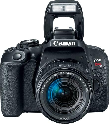 Canon EOS Rebel T7i with EF-S 18-55mm f/4-5.6 IS STM lens