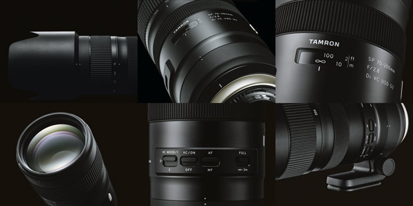 Tamron SP 70-200mm F/2.8 Di VC USD G2 (Model A025): Design details