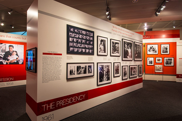 """Creating Camelot: The Kennedy Photography of Jacques Lowe"" Image Courtesy of Newseum"