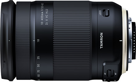 Tamron 18-400mm F3.5-6.3 Di II VC HLD (Model B028): Nikon Mount model