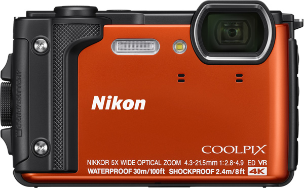 Nikon COOLPIX W300, orange