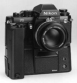 Nikon F3 with optional motor drive