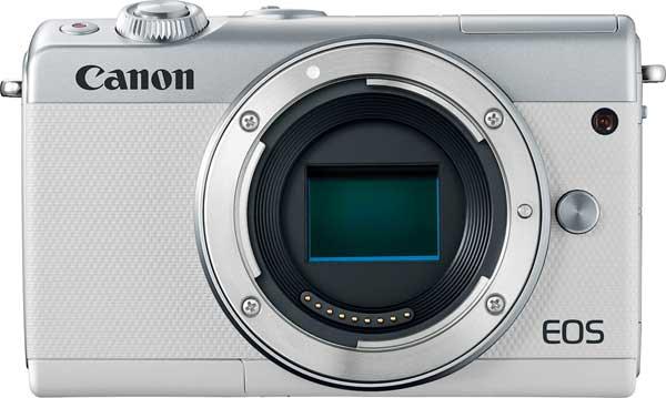Canon EOS M100, white