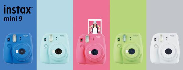 Fujifilm Instax® Mini 9 instant film cameras: More info about the camera at https://www.photoxels.com/fujifilm-instax-mini-9/