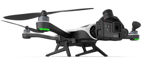 GoPro Karma with Hero6 Black: Karma drone now features follow capabilities.