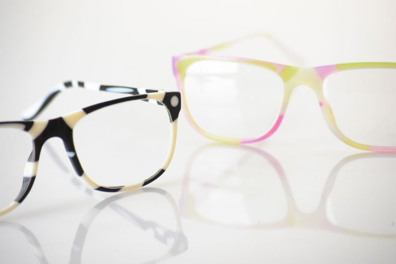 The Stratasys VeroFlex Rapid Prototyping Eyewear Solution allows eyeglass designers to effortlessly 3D print accurate models of their designs, with all their intended aesthetic qualities, such as transparency, patterns and colorful designs, and may allow designers to shrink time-to-market from 15 months to 8 weeks. (Photo: Stratasys)