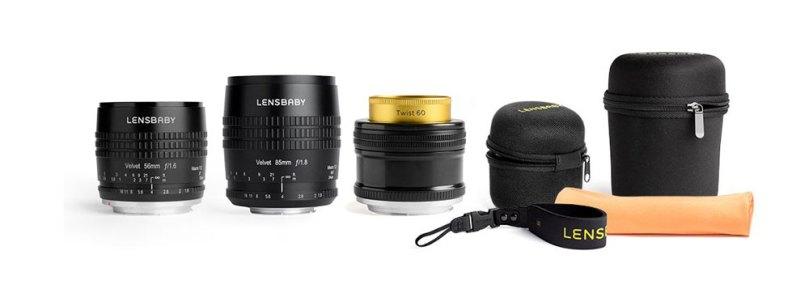 Lensbaby Limited Edition Velvet Lenses & Twist Lens Gift Set