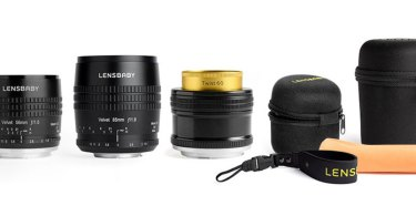 Lensbaby Limited Edition Velvet Lenses & Twist Lens Gift Set