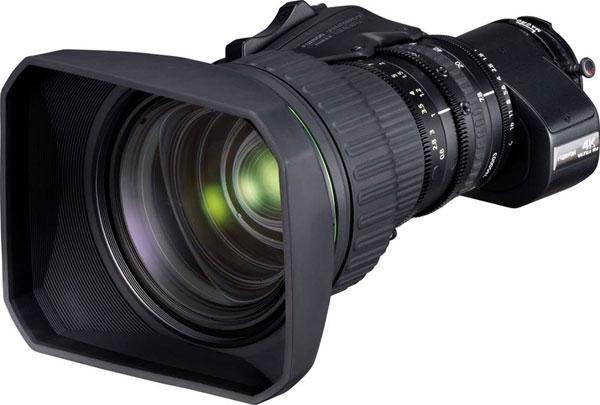 """""""FUJINON UA24×7.8BE"""" Portable Zoom Lens"""