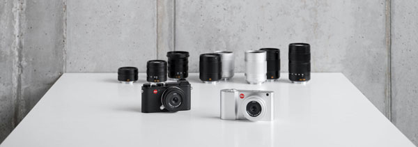 Leica APS-C System: Leica CL (left), Leica TL2 (right) and Lenses