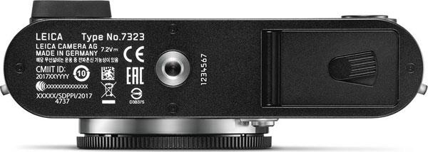 Leica CL, bottom view