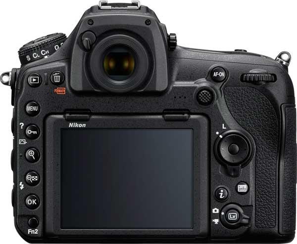 Nikon D850 (Back View)