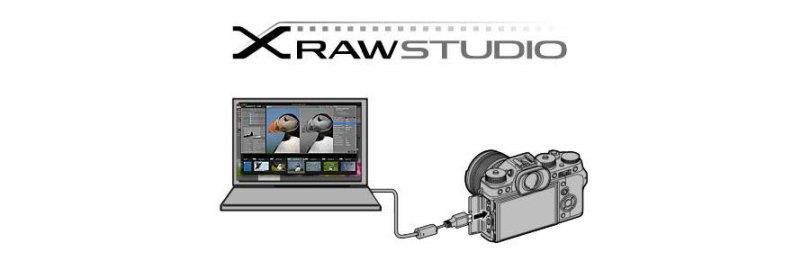 FUJIFILM X RAW STUDIO software