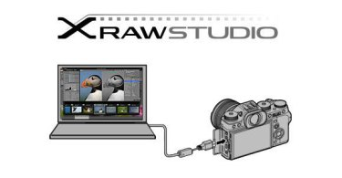 FUJIFILM X RAW STUDIO software