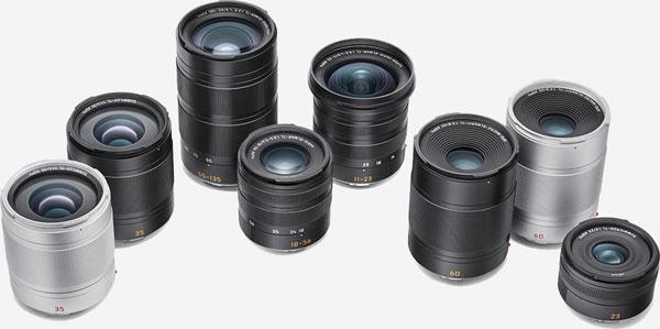 Leica TL Lens Family