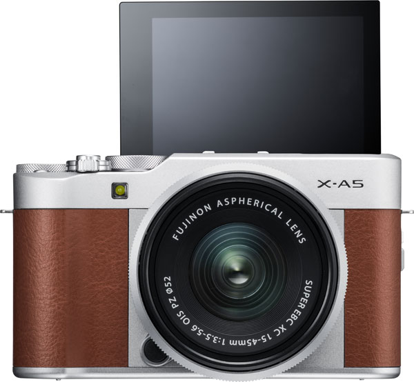 FUJIFILM X-A5, brown