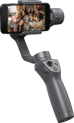 DJI Osmo Mobile 2 with a smartphone